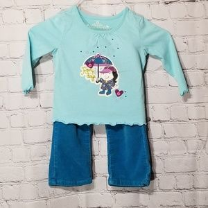 Children's Place long sleeve and pants set